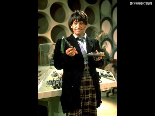 The секунда Doctor- Patrick Troughton