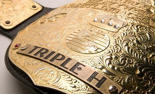 World Heavy Weight Championship Belt