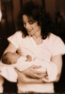 michael and prince as a baby