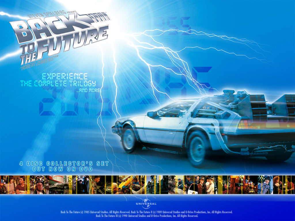 Back To The Future Back To The Future Wallpaper 13786709 Fanpop