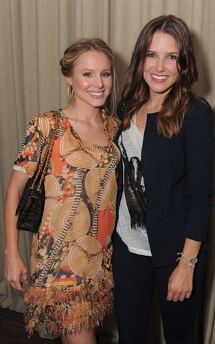 Kristen Bell and Sophia Bush: Darker Side of Green Gals