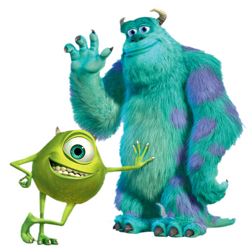 Mike and Sully