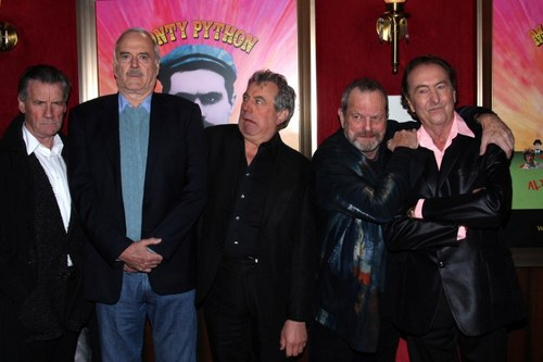 A Night of Round table, tableau With Monty python
