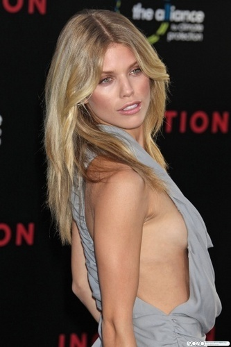 "AnnaLynne @ ""Inception"" Los Angeles Premiere"