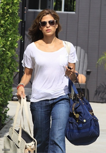 Eva @ leaving a gym in Beverly Hills