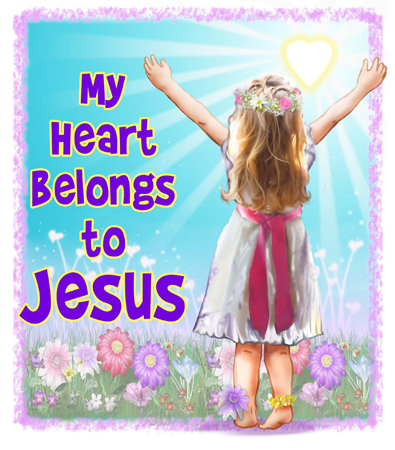 My hati, tengah-tengah Belongs To Jesus