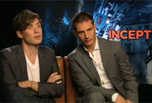Tom Hardy, Cillian Murphy Inception Interview