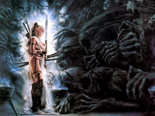 Fantasy Art by Luis Royo