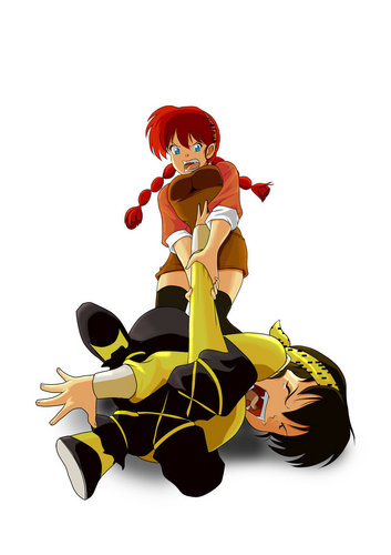 Ranma 1/2 - Yoiko and Ryoga's Sibling Love
