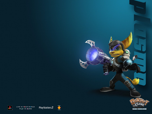 Ratchet and Clank ~Wallpaper~