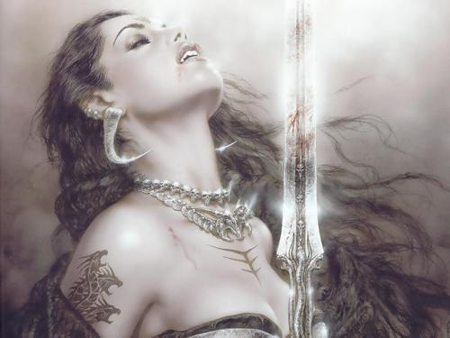 Vampire wallpapers por Luis Royo