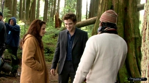 Behind DVD New Moon