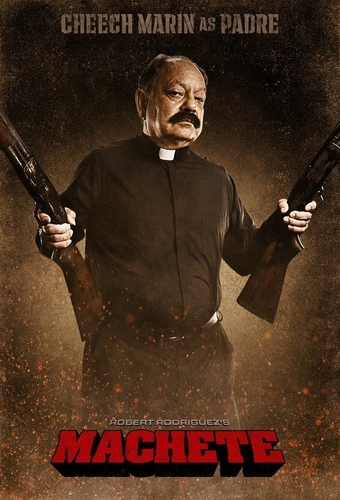 Cheech Marin as Padre Cortez