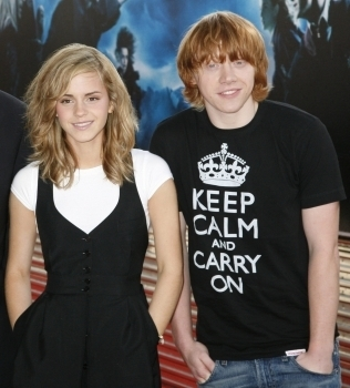 Emma and Rupert - 04.07.07: Order of the Phoenix Paris Photocall