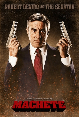 Robert DeNiro as Senator McLaughlin