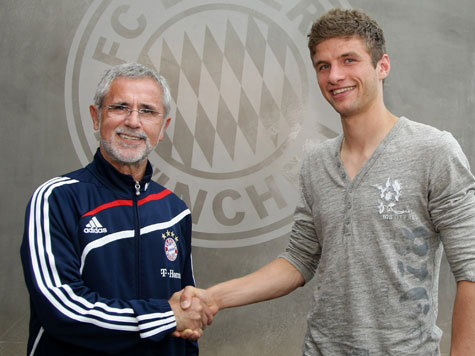 Thomas Müller and Gerd Müller
