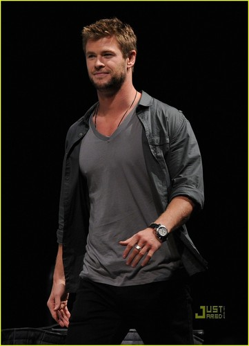 Chris @ 2010 Comic Con