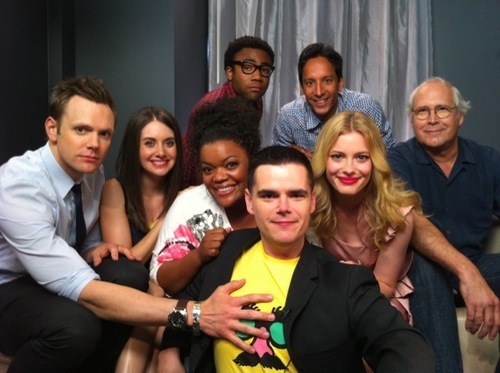 Community Cast @ Comic-Con