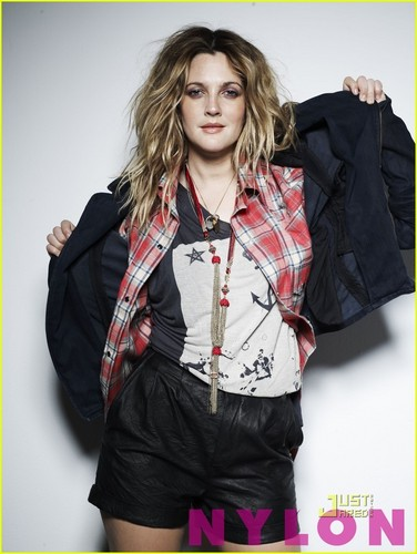 Drew Barrymore Covers 'Nylon' August 2010