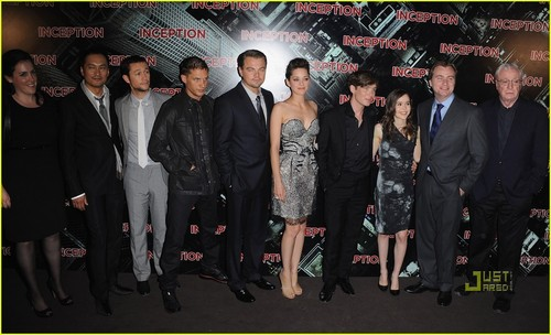 Inception Paris Premiere