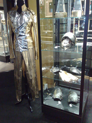 Michaels costume of the tour in munich 1997 !