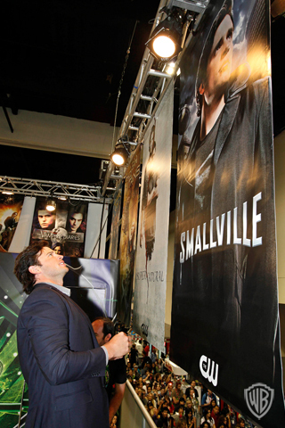 Tom Welling - Comic Con 2010