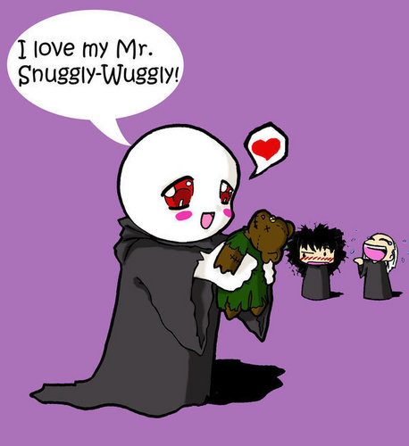 Aw Voldy looks so cute.