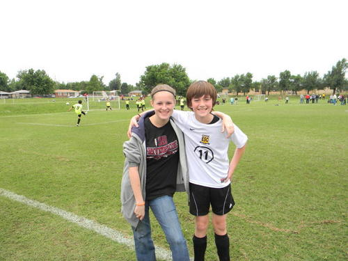 Greyson's Soccer Game