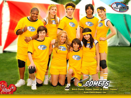 The Comets (yellow)