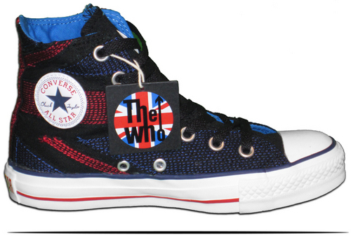 The Who 匡威 Shoes