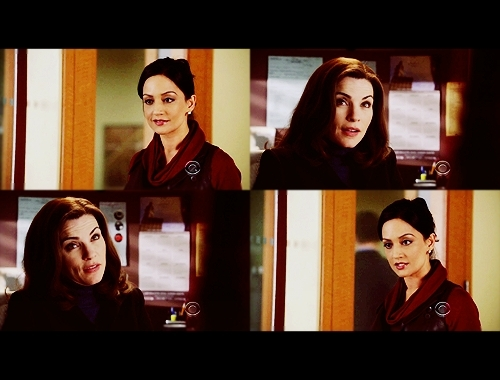 Alicia & Kalinda: 1x09 - Threesome