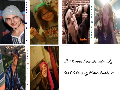 Big Time Rush Semi-Look Alikes.