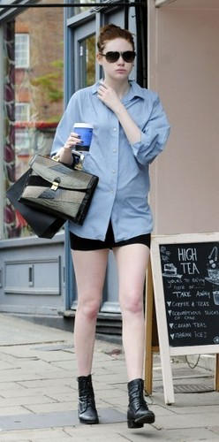 Karen Gillan out in London (July 13)
