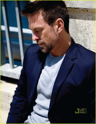 True Blood actor Grant Bowler-Da Man magazine