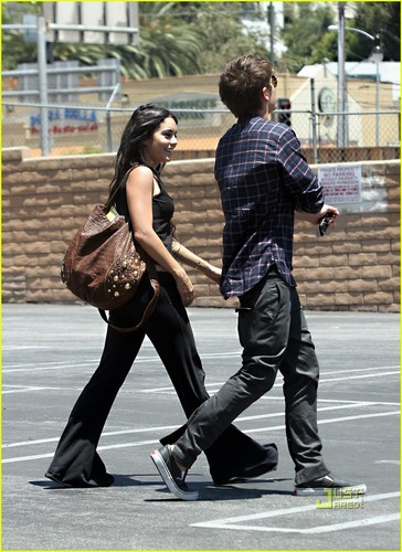 Zanessa out in Hollywood