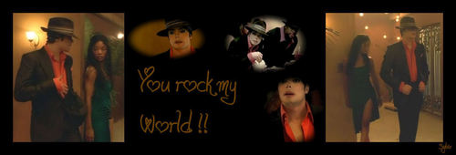 당신 Rock My World
