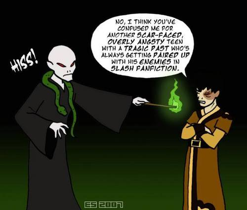 Zuko and who else other than voldemort :D