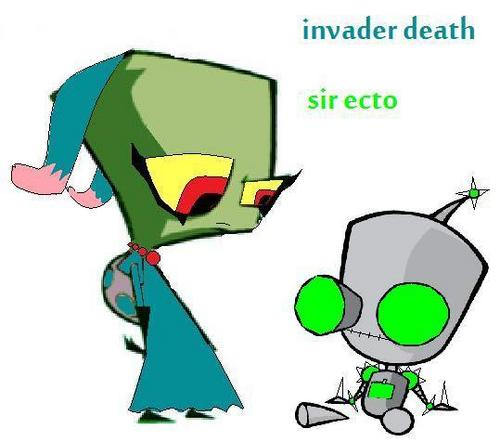 invader death and ecto