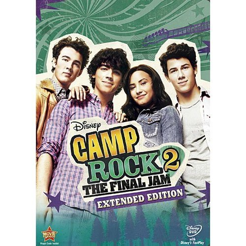 Camp Rock 2: The Final варенье, джем - Extended Edition (Official DVD Cover)