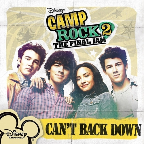 Can't Back Down (Official Single Cover)