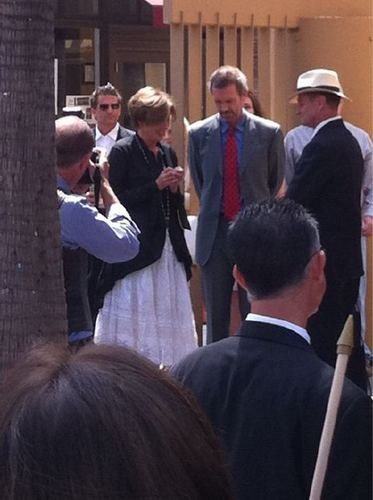 Hugh&Emma Thompson at the Walk of Fame(2)