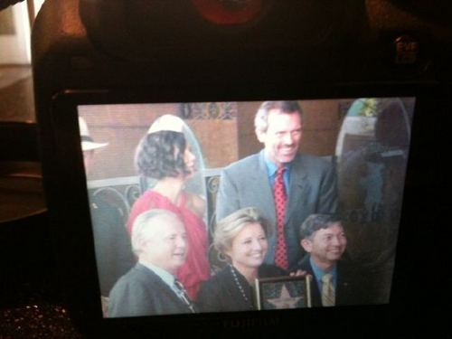 Hugh&Emma Thompson at the Walk of Fame(3)