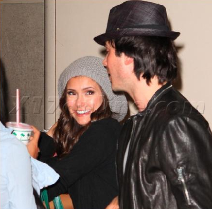 Ian & Nina after Teen Choice Awards
