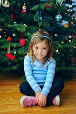 Renesmee at Christmas