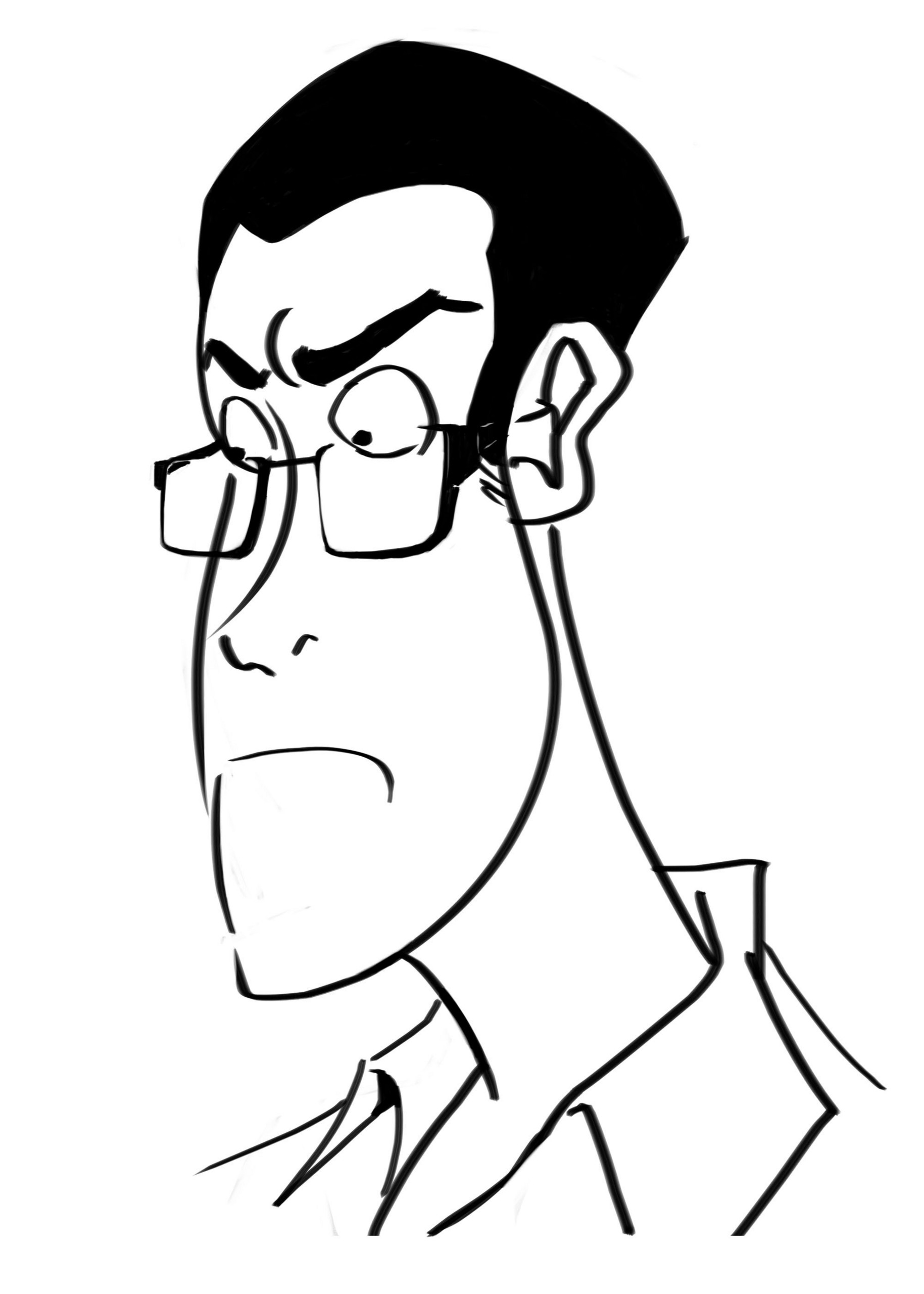 Avgn Caricature Angry Video Game Nerd Fan Art 14612846 Fanpop