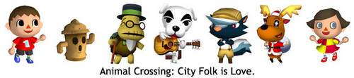 AnimaL Crossing City Folk is Love