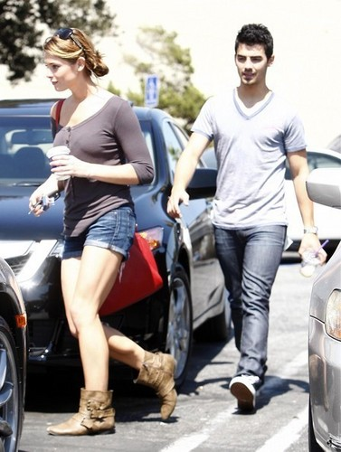 Ashley & Joe out in Studio City
