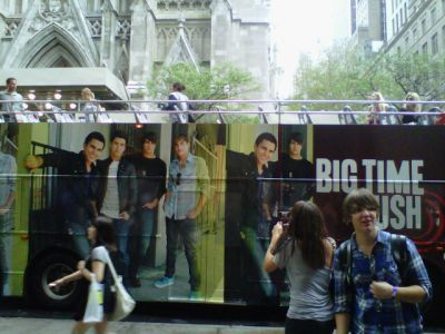 Big Time Rush Bus