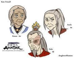 Katar Zuko and Azula in about 50 years