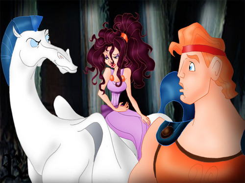 megara and hercules in pegasus